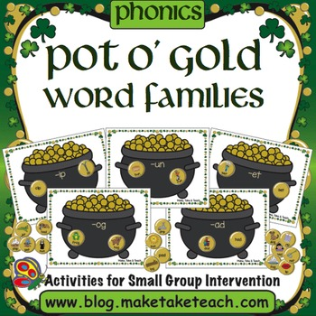Word Families - Pot O' Gold