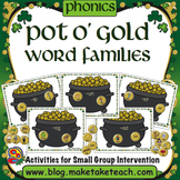 Word Families - Pot O' Gold