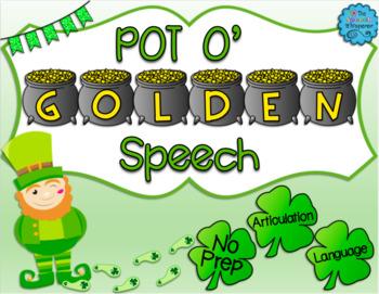 Pot O' Golden Speech: St. Patrick's Day Articulation
