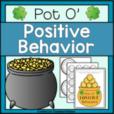 Positive Behavior Activities - St. Patrick's Day Themed