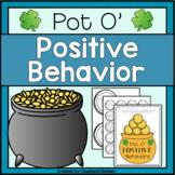 Positive Behavior Activities - St. Patrick's Day Themed