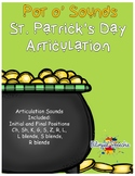 St. Patrick's Day Articulation - Pot O' Sounds