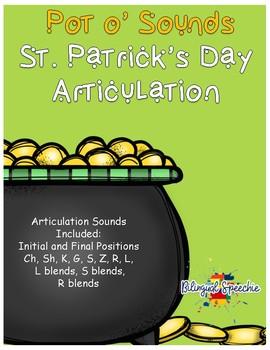 St. Patrick's Day Articulation - Pot O' Sounds