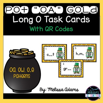 "Pot ""OA"" Gold Long O Cards"
