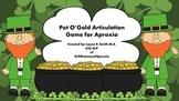 Pot O'Gold Articulation Game for Apraxia