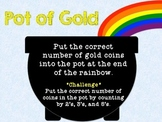 Pot Of Gold St. Patrick's Day: One-to-One & Number Recognition