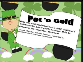 Pot 'o Gold - A Mi-So-La Saint Patrick's Day Game