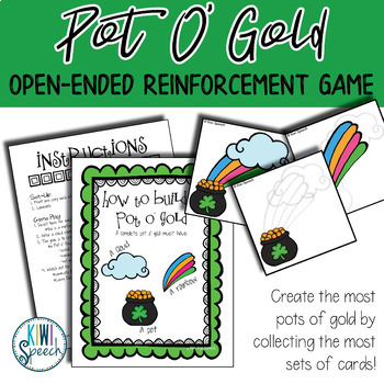 Pot o' Gold Builder: Open Ended Game: Great for Speech and Language