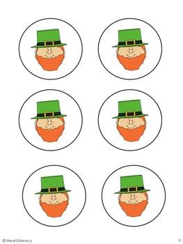 St. Patrick's Day CVC Word Game