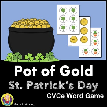St. Patrick's Day CVCe Word Game