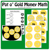 Pot of Gold Money Math for March & St. Patrick's Day: Coin Combos less than $1