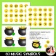 St. Patrick's Day Music Symbol Matching Game: Pot o' Gold Music Match