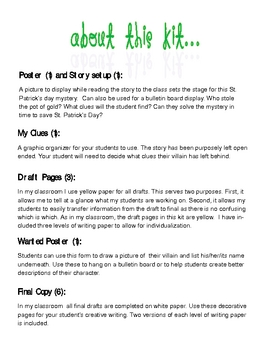 Pot o' Gold Mystery (St. Patrick's Day)