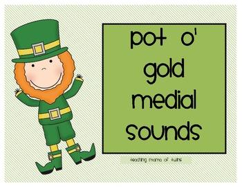 Pot o' Gold- St. Patrick's Day Medial Sounds