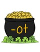Pot o' Gold~St.Patrick's Day Word Family Sort