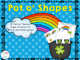 Pot o' Shapes Activities for Pre-K and Kindergarten