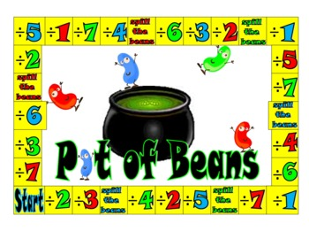 Pot of Beans, A Division Game That  Focuses on Remainders