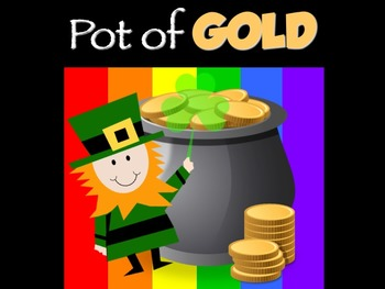 Pot of GOLD - Music Assessment Game! 3rd Grade