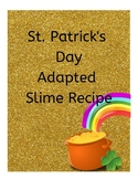Pot of Gold Adapted Slime Recipe