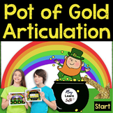 Pot of Gold Articulation - Boom Cards - Speech Therapy - A