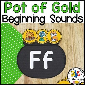 Pot of Gold Beginning Sounds Sort