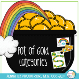 Pot of Gold Categories