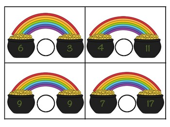 Pot of Gold Comparing Numbers