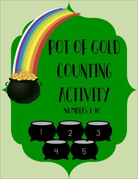 Pot of Gold Counting Activity