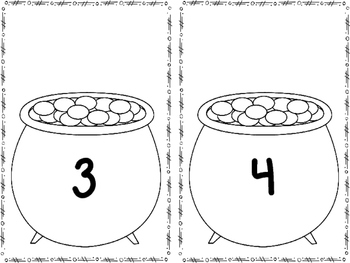 Pot of Gold Counting Coins {FREEBIE}