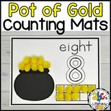 Pot of Gold Counting Mats #1-20