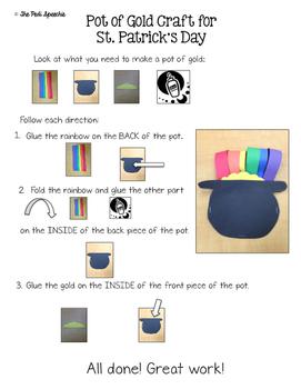 Pot of Gold Craftivity Blog Hop
