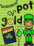 St. Patrick's Day Pot of Gold Fact Family Craftivity