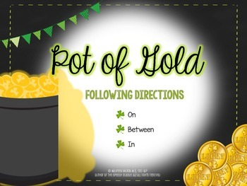 Pot of Gold Following Directions