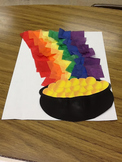 Pot of Gold Freebie for Rainbow Tissue Activity