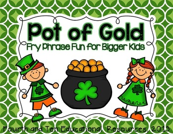 Pot of Gold: Fry Phrase Fun for Bigger Kids