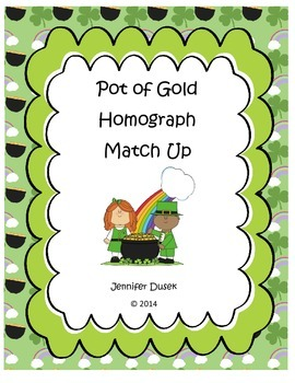 Pot of Gold Homograph Match Up