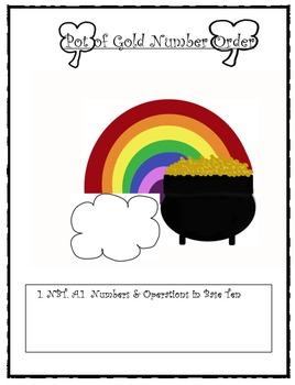 Pot of Gold Number Order