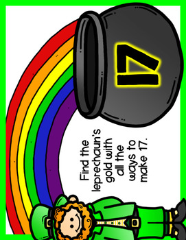 Pot of Gold Number Sense Activity {Representing Numbers 0-20}