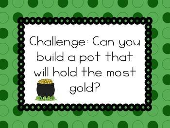 Pot of Gold STEM Engineering Challenge