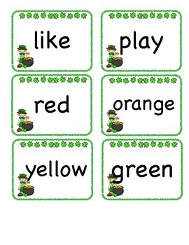 Pot of Gold Sight Word Fun