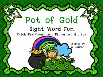 Sight Word Games- March (Dolch Pre-Primer and Primer)