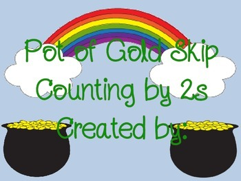 Pot of Gold Skip Counting by 2s