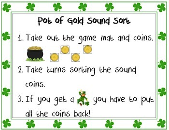 Pot of Gold Sound Sort