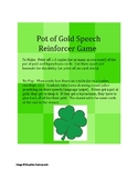 Pot of Gold Speech Reinforcer Game