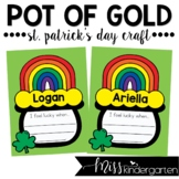 Pot of Gold St Patrick's Day Craft