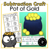 Pot of Gold Subtraction Craftivity