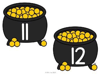 Pot of Gold {Ten Frame Center}