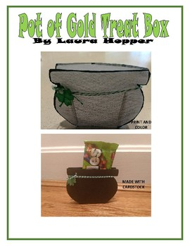 Pot of Gold Treat Box (St. Patrick's Day craft)