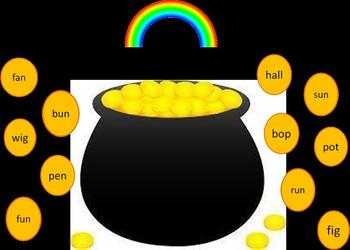 Pot of Gold Word Families