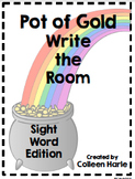 Pot of Gold Write the Room/Dolch Words